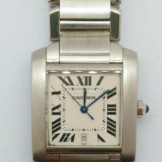 Relojes - Cartier: RELOJ CARTIER -TANK FRANCES-ACERO Nº CC 798155. Lote 195084112