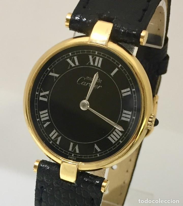 CARTIER VANDOME PLAQUÈ ORO 18KT. (Relojes - Relojes Actuales - Cartier)
