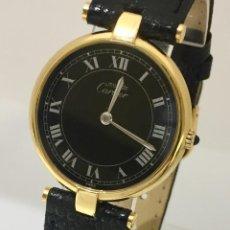 Relojes - Cartier: CARTIER VANDOME PLAQUÈ ORO 18KT.. Lote 198578025