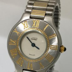 Relojes - Cartier: CARTIER MUST RONDE. Lote 198578930