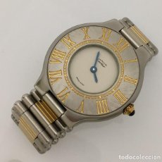 Relojes - Cartier: CARTIER MUST RONDE. Lote 198578930