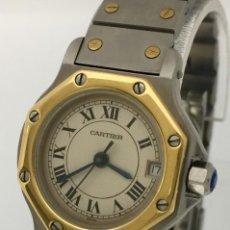 Relojes - Cartier: CARTIER ACERO Y ORO COMO NUEVO.. Lote 198579208