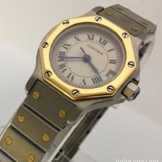 Relojes - Cartier: CARTIER ACERO Y ORO COMO NUEVO.MUJER.. Lote 198579208