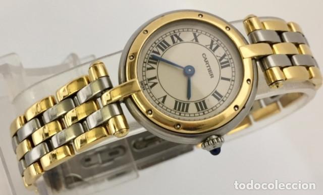 CARTIER ORO 18KTS. Y ACERO MUJER ¡¡COMO NUEVO!! (Relojes - Relojes Actuales - Cartier)