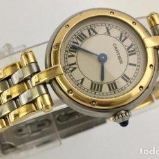 Relojes - Cartier: CARTIER ORO 18KTS. Y ACERO MUJER ¡¡COMO NUEVO!!. Lote 189602701