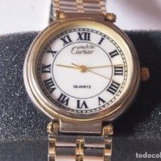 Montres - Cartier: RELOJ CARTIER PARIS EN PLATA 925 QUARTZ ARGENT. Lote 199941843