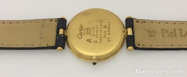 Relojes - Cartier: CARTIER VANDOME PLAQUÈ ORO 18KT. - Foto 3 - 198578025