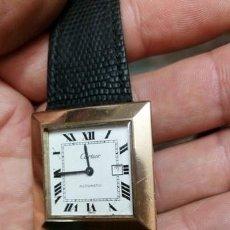 Relojes - Cartier: RELOJ DE PULSERA UNISEX CARTIER SANTOS AUTOMATIC 2651 K1.RARO Y UNICO .HECHO EXCLUSIVO PARA CLIENTE. Lote 204537028