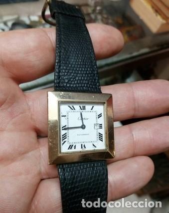 Relojes - Cartier: Reloj CARTIER Santos automatic 2651 K1.RARO Y UNICO .Hecho EXCLUSIVO para CLIENTE - Foto 2 - 204537028