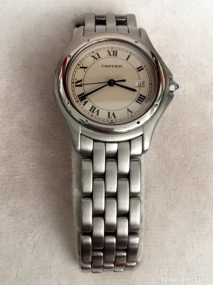 Relojes - Cartier: Reloj Caballero Cougar de Cartier en perfecto estado al día de revisiones con garantía y documentos - Foto 2 - 207617930