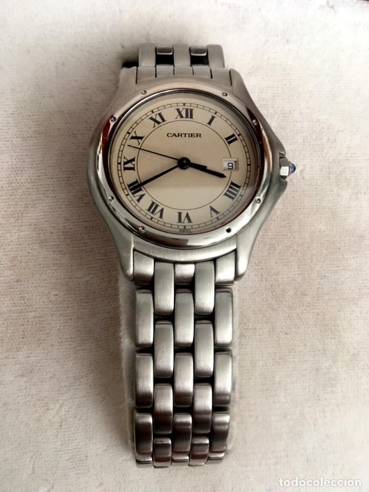 Relojes - Cartier: Reloj Caballero Cougar de Cartier en perfecto estado al día de revisiones con garantía y documentos - Foto 5 - 207617930