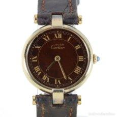 Relojes - Cartier: MUST DE CARTIER MUJER CUARZO CON PAPELES. Lote 208681205