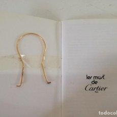 Montres - Cartier: MANUAL Y EXTRACTOR DE MECHERO CARTIER, LES MUST DE CARTIER, DE METAL, PARÍS. Lote 209093791
