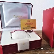 Montres - Cartier: CAJA ORIGINAL RELOJ CARTIER NUEVA TAMAÑO GRANDE INSTRUCIONES GARANTIA CATALOGO JOYERO PARA JOYAS. Lote 209883850