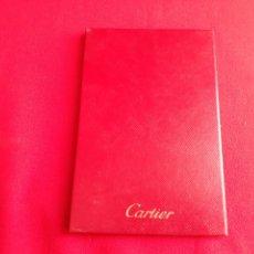 Relojes - Cartier: CARTIER CERTIFICADO DE AUTENTICIDAD PARA JOYERÍA EN ROJO. Lote 210642325