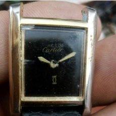Relojes - Cartier: RELOJ SEÑORA... MUST DE CARTIER ...18 K GOLD.ELECTROPLATED.. Lote 212709526
