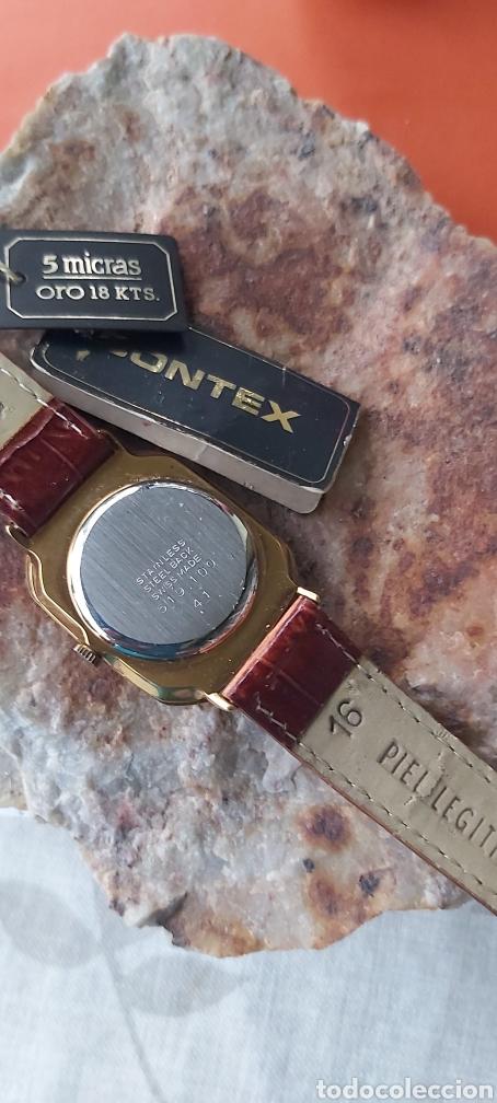 Relojes - Cartier: Reloj clásico.estilo Cartier. Chap.oro18.k ley 5m - Foto 2 - 212873050