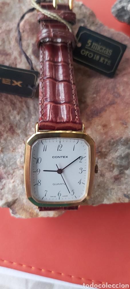 Relojes - Cartier: Reloj clásico.estilo Cartier. Chap.oro18.k ley 5m - Foto 3 - 212873050