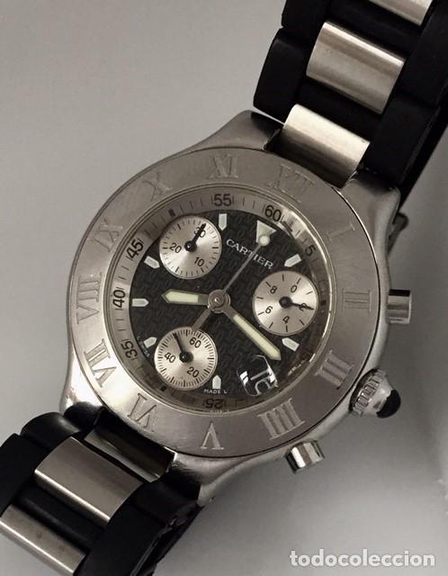 Relojes - Cartier: CARTIER CHRONOSCAP 21 ¡¡COMO NUEVO!! - Foto 2 - 217179922