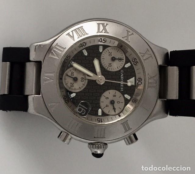 Relojes - Cartier: CARTIER CHRONOSCAP 21 ¡¡COMO NUEVO!! - Foto 5 - 217179922