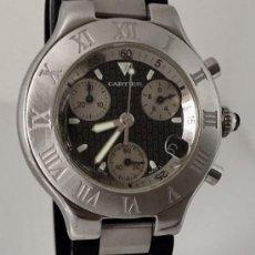 Relojes - Cartier: CARTIER CHRONOSCAP 21 ¡¡COMO NUEVO!!. Lote 217499547