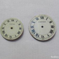 Relojes - Cartier: ESFERAS CARTIER ORIGINALES. Lote 218761315