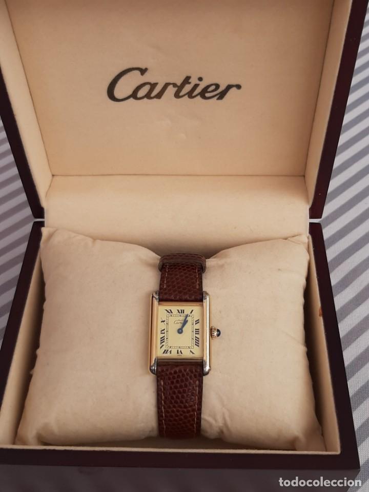 CARTIER TANK ARGENT, MUJER ¡¡COMO NUEVO!! (Relojes - Relojes Actuales - Cartier)