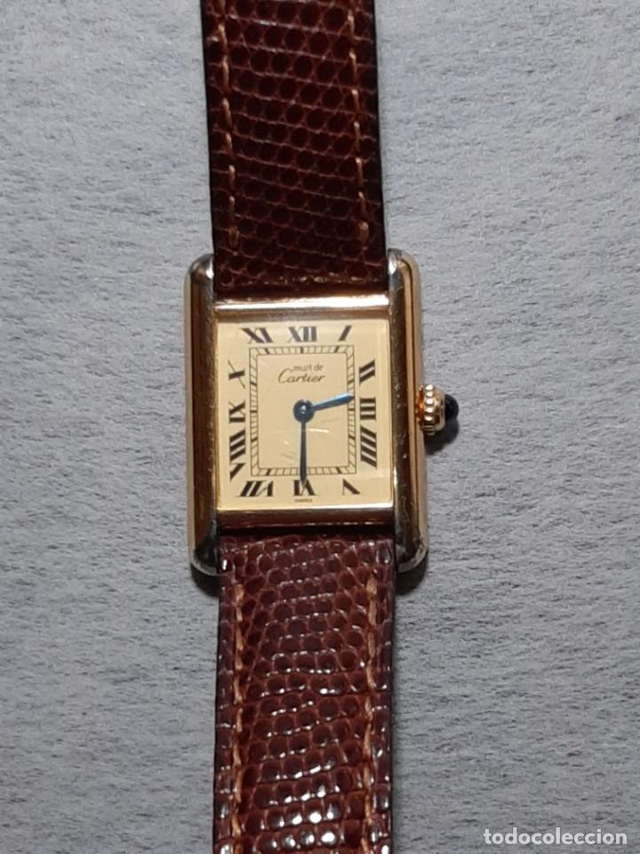 Relojes - Cartier: CARTIER TANK ARGENT, MUJER ¡¡COMO NUEVO!! - Foto 2 - 235259240