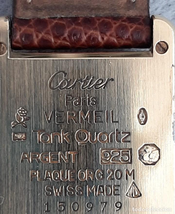 Relojes - Cartier: CARTIER TANK ARGENT, MUJER ¡¡COMO NUEVO!! - Foto 3 - 235259240