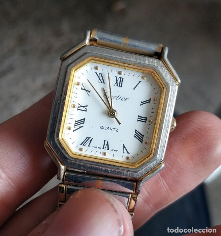 Relojes - Cartier: Reloj Cartier Japan Movt - Foto 2 - 219495762