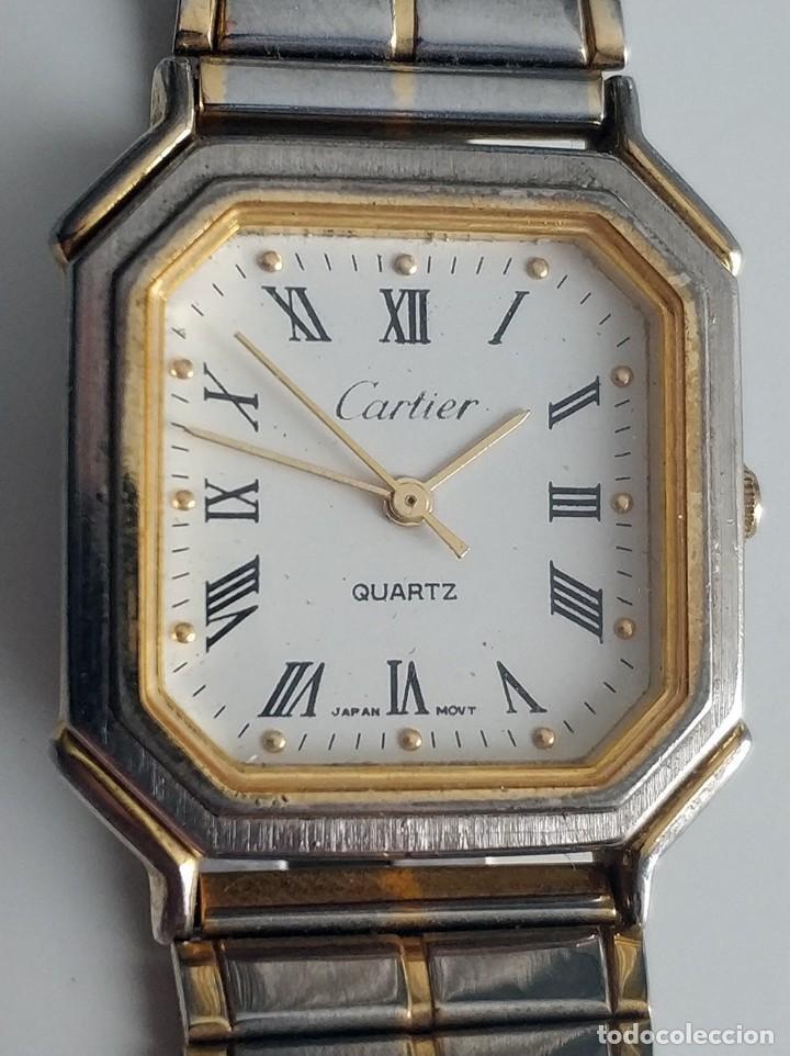 Relojes - Cartier: Reloj Cartier Japan Movt - Foto 3 - 219495762
