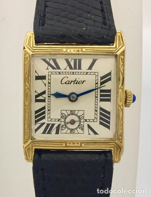 CARTIER VINTAGE ARTDÈCO ORO 18KT. MUJER (Relojes - Relojes Actuales - Cartier)