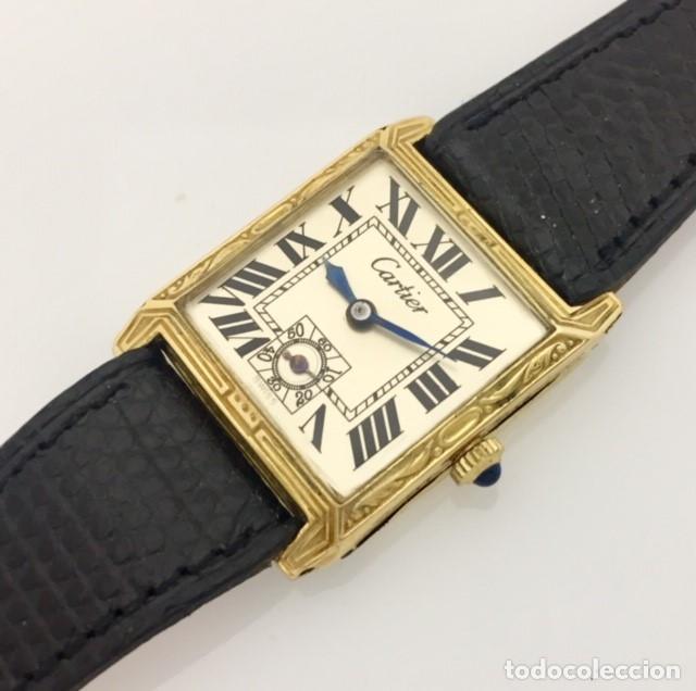 Relojes - Cartier: CARTIER VINTAGE ARTDÈCO ORO 18KT. MUJER - Foto 2 - 222084117