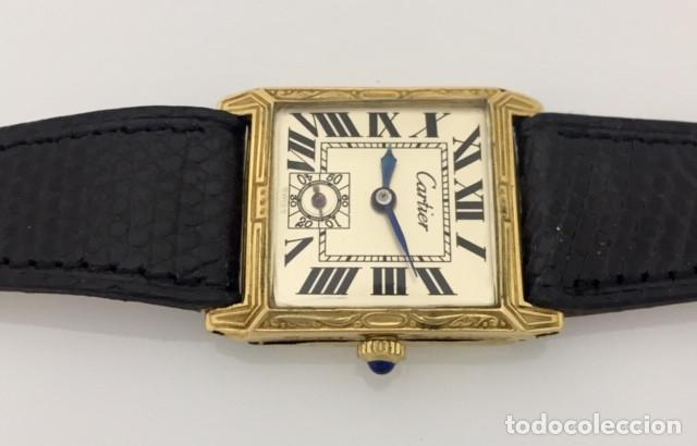 Relojes - Cartier: CARTIER VINTAGE ARTDÈCO ORO 18KT. MUJER - Foto 3 - 222084117