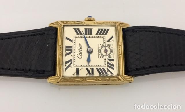 Relojes - Cartier: CARTIER VINTAGE ARTDÈCO ORO 18KT. MUJER - Foto 4 - 222084117