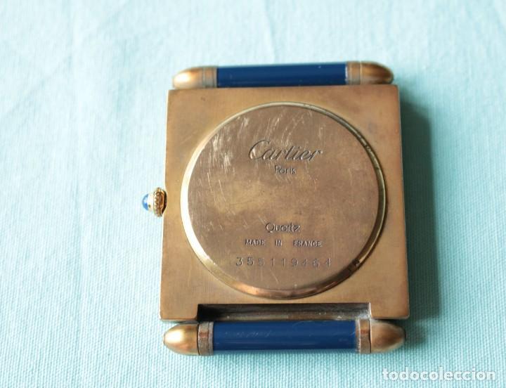 Relojes - Cartier: Reloj de viaje Cartier. Cartier travelling clock. - Foto 3 - 51050074