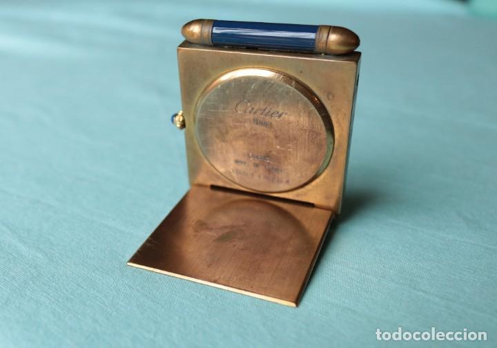Relojes - Cartier: Reloj de viaje Cartier. Cartier travelling clock. - Foto 6 - 51050074