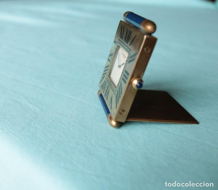 Relojes - Cartier: Reloj de viaje Cartier. Cartier travelling clock. - Foto 7 - 51050074