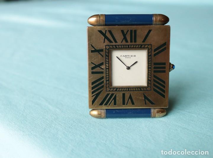 RELOJ DE VIAJE CARTIER. CARTIER TRAVELLING CLOCK. (Relojes - Relojes Actuales - Cartier)