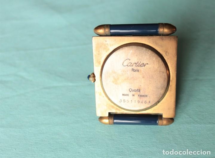 Relojes - Cartier: Reloj de viaje Cartier. Cartier travelling clock. - Foto 9 - 51050074
