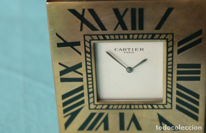 Relojes - Cartier: Reloj de viaje Cartier. Cartier travelling clock. - Foto 2 - 51050074