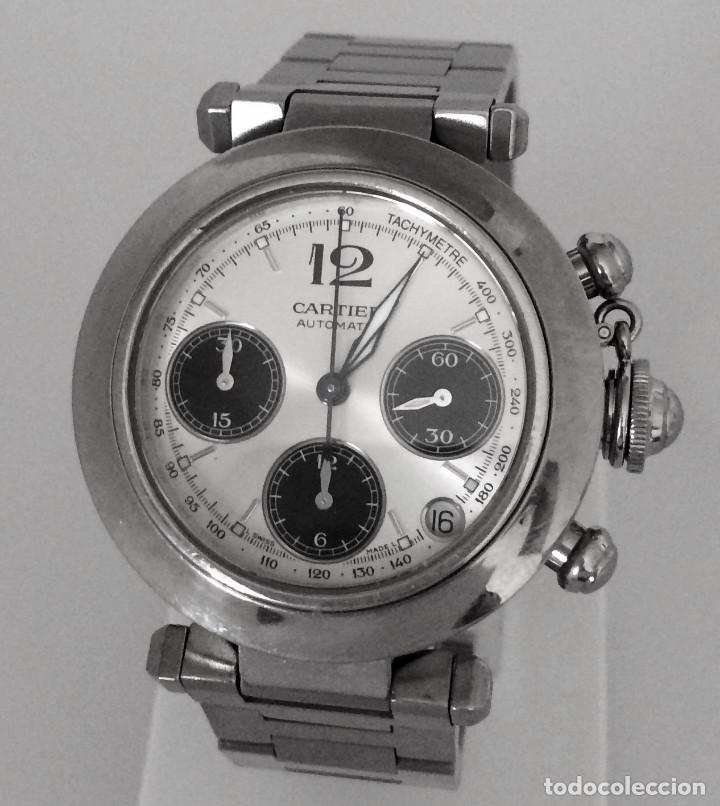 CARTIER PASHA CHRONO TRICOMPAS DATE-¡¡COMO NUEVO!! (Relojes - Relojes Actuales - Cartier)