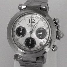 Relojes - Cartier: CARTIER PASHA CHRONO TRICOMPAS DATE-¡¡COMO NUEVO!!. Lote 71093193