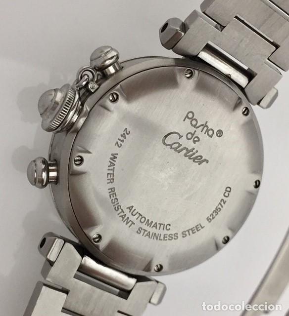 Relojes - Cartier: CARTIER PASHA CHRONO TRICOMPAS DATE-¡¡COMO NUEVO!! - Foto 4 - 71093193