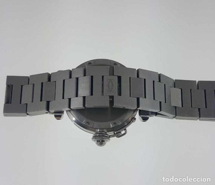 Relojes - Cartier: CARTIER PASHA CHRONO TRICOMPAS DATE-¡¡COMO NUEVO!! - Foto 5 - 71093193