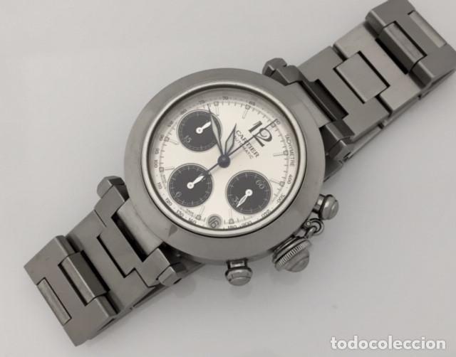 Relojes - Cartier: CARTIER PASHA CHRONO TRICOMPAS DATE-¡¡COMO NUEVO!! - Foto 2 - 71093193