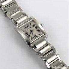Relojes - Cartier: CARTIER TANK FRANCAISE REF 2384. Lote 229692580