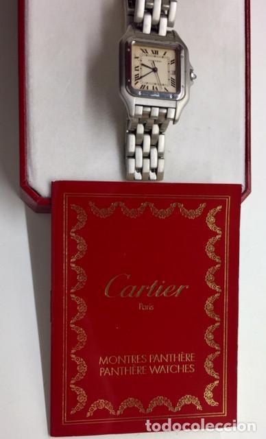 Relojes - Cartier: CARTIER PANTHÈRE HOMBRE ¡¡COMO NUEVO!! - Foto 4 - 140548350