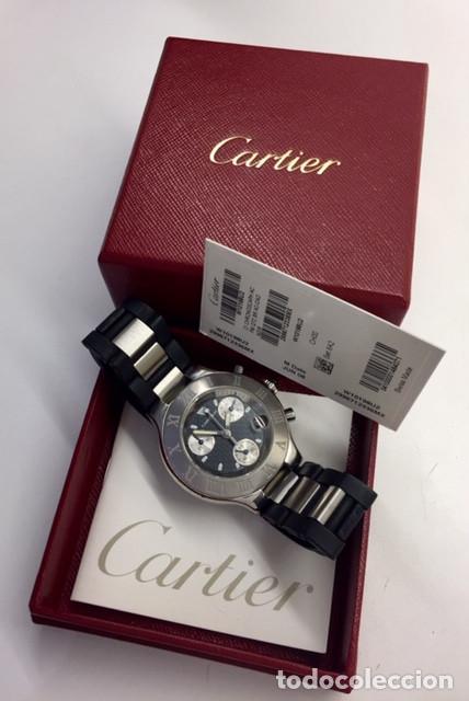 Relojes - Cartier: CARTIER CRONOSCAP ¡¡¡COMO NUEVO!!! - Foto 4 - 189602768