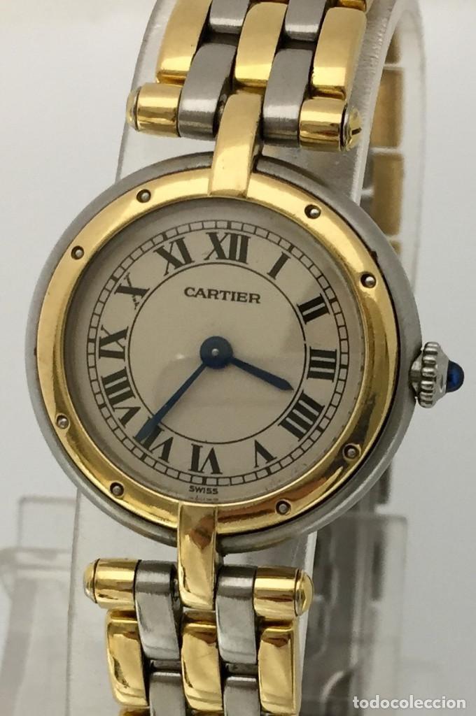 Relojes - Cartier: CARTIER PANTHERE ORO 18KTS. y ACERO MUJER ¡¡COMO NUEVO!! - Foto 2 - 189602701